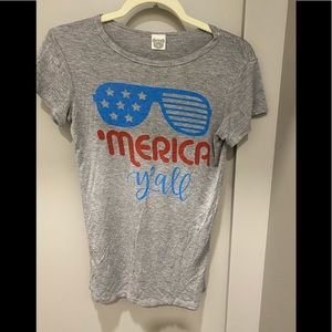Merica ya'll tshirt. Size M